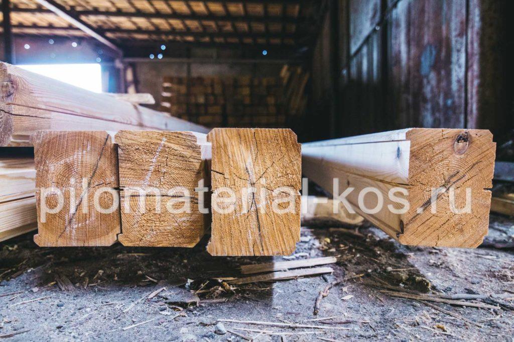 Профилированный брус естественной сушки в Костроме - купить