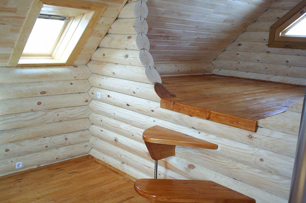 Дом из оцилиндрованного бревна заказать в Костроме