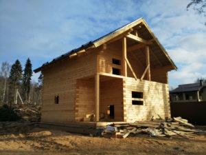 Строительство домов из профилированного бруса от производителя