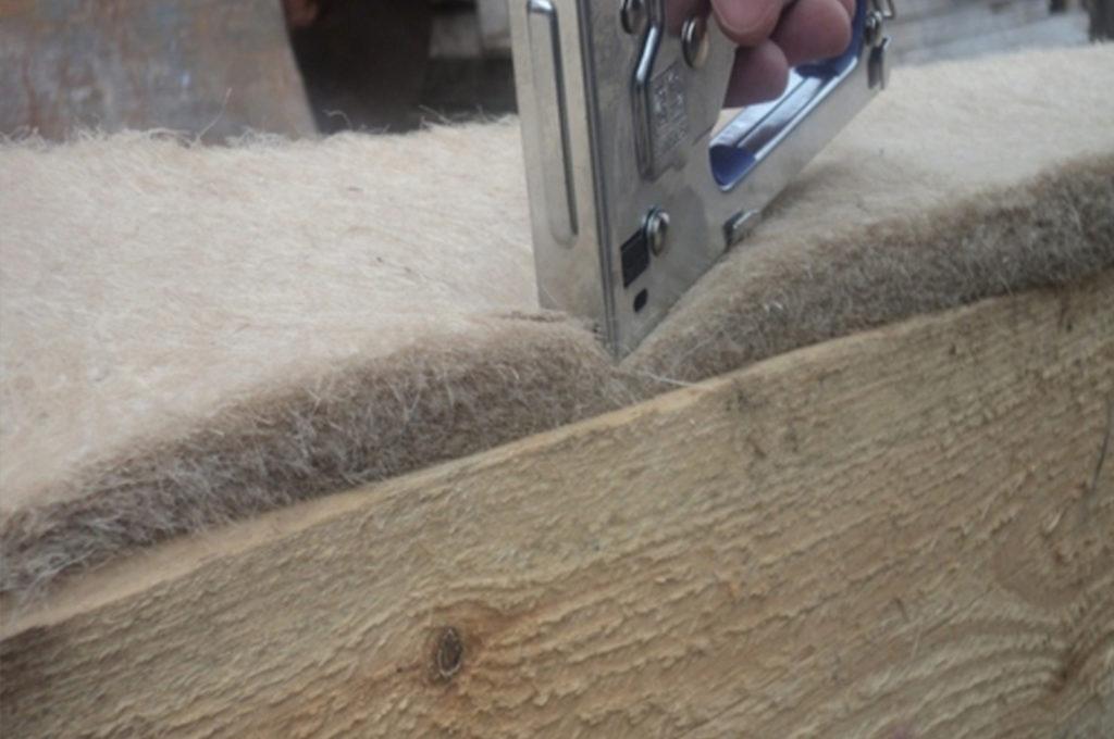 Межвенцовый утеплитель - льноджутовое волокно (джут) Кострома