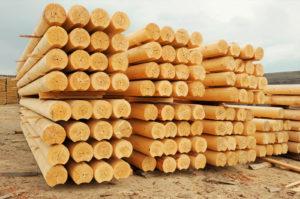Оцилиндрованное бревно цена в Костроме от производителя