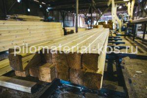 Продажа профилированного бруса Кострома пилорама