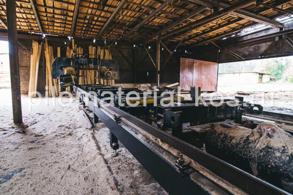 Производство обрезного пиломатериала - Кострома