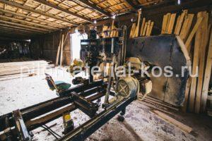 Кострома производство обрезного пиломатериала - пилорама