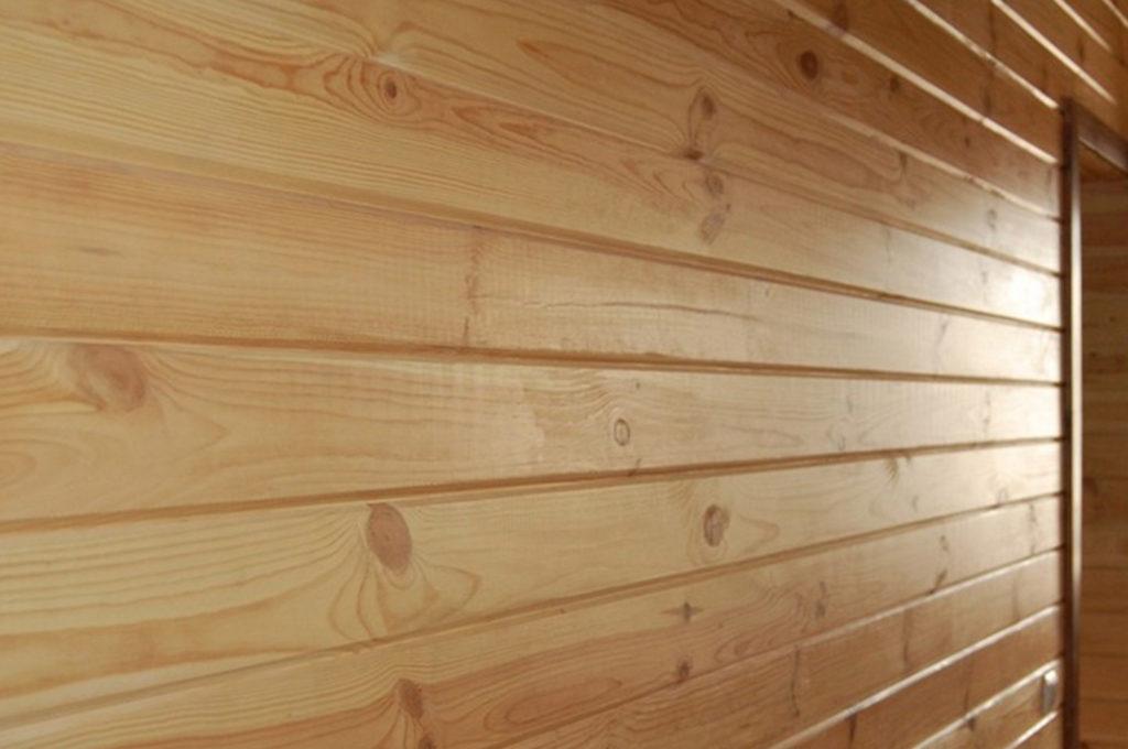 Имитация бруса - облицовка стен