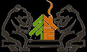 2 плотника логотип (производственно-строительная компания) без названия